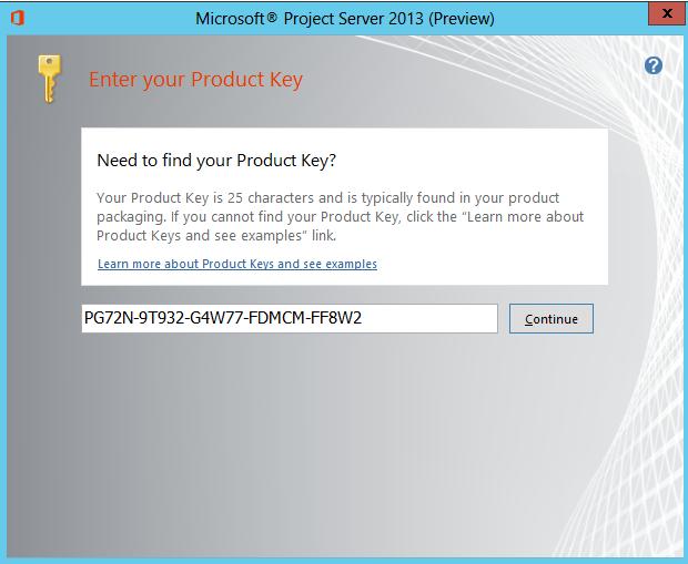 Project Server 2013 installation using PowerShell - Alexander