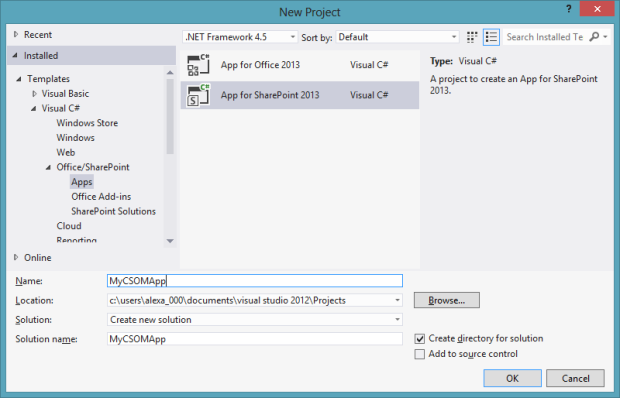How to use Project Server Online data in a SharePoint 2013