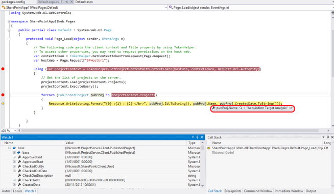 Debugging Apps for SharePoint Online on a non-development