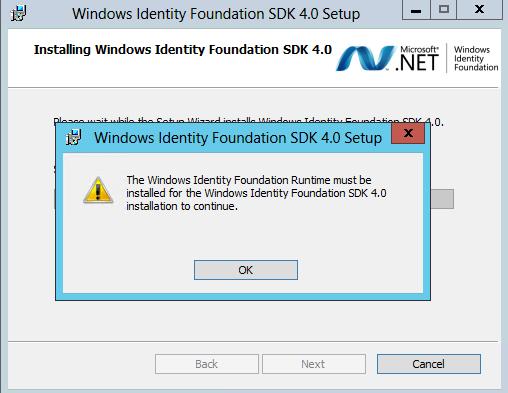 Windows Identity Foundation Runtime